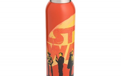 New Solo Movie Orange Stainless Steel Water Bottle available on Amazon.com