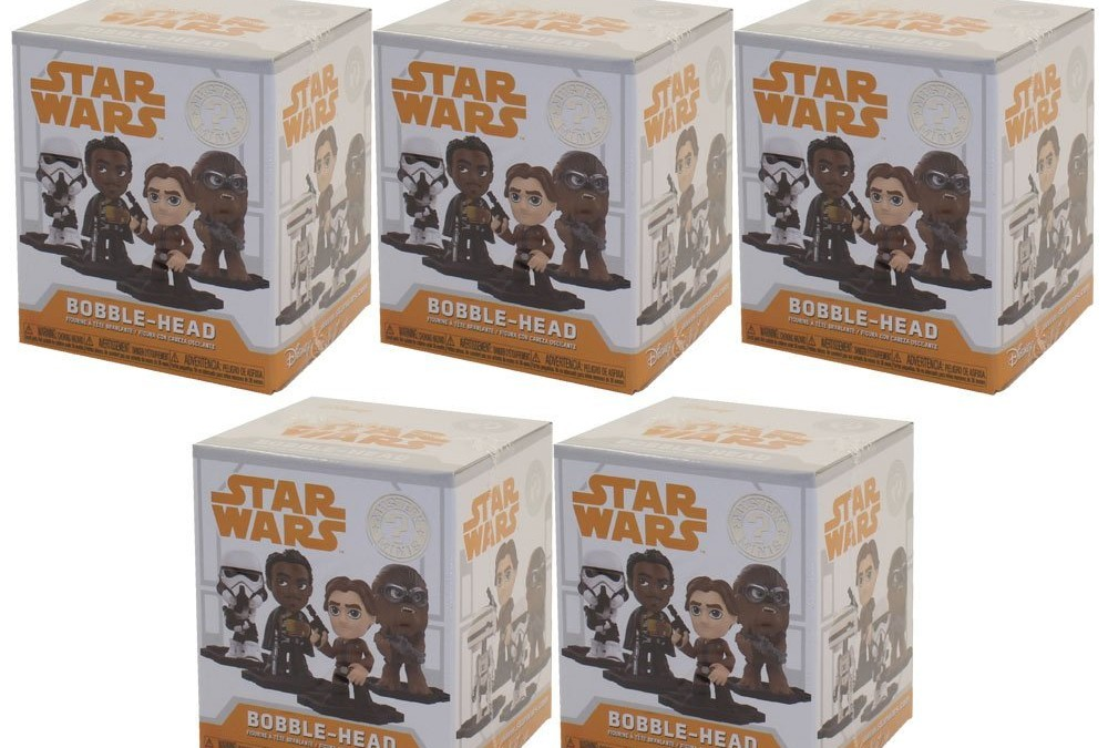 New Solo Movie Funko Pop! Mystery Minis Blind Boxes 5-Pack available on Amazon.com