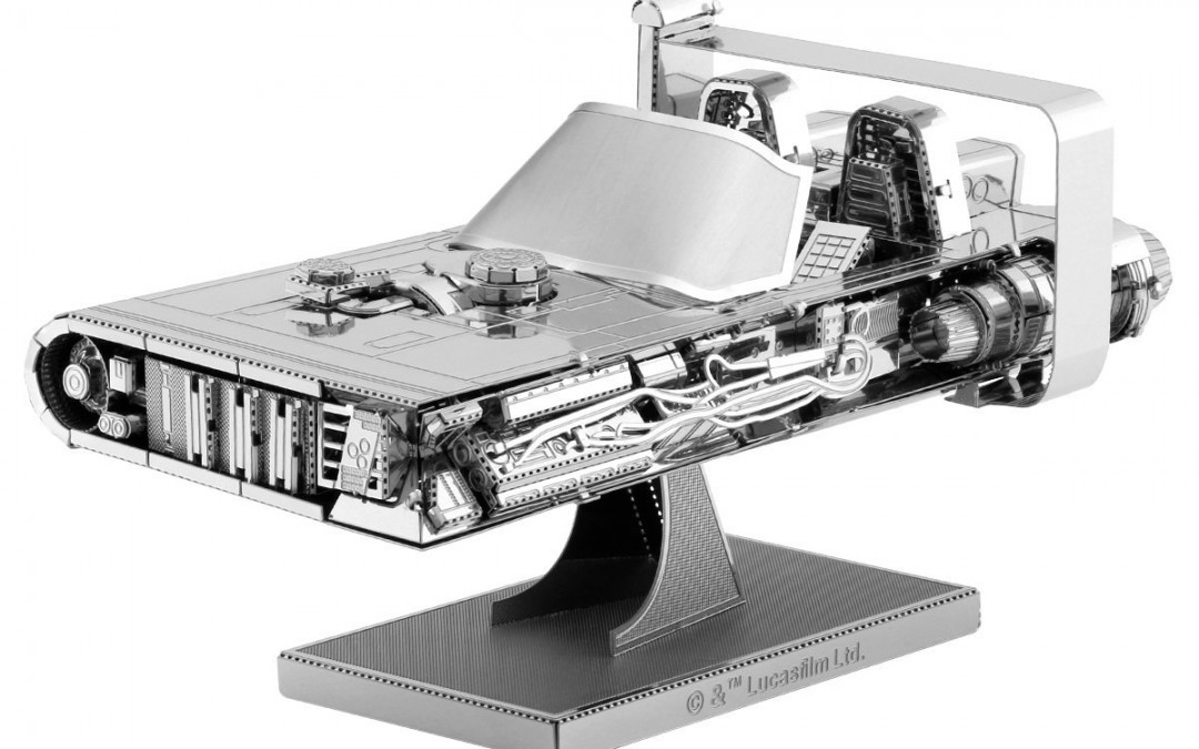 New Solo Movie Han Solo's Speeder 3D Metal Model Kit available on Amazon.com