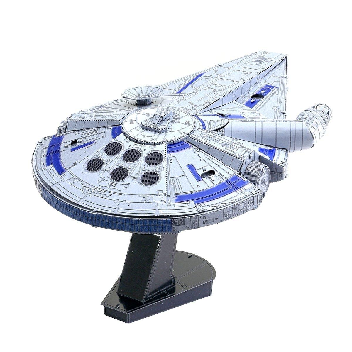 Solo: ASWS Millennium Falcon 3D Metal Model Kit 2