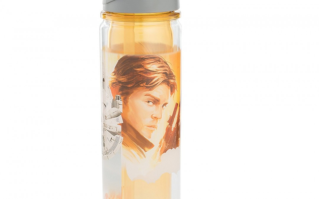New Solo Movie Han Solo Water Bottle available on Amazon.com