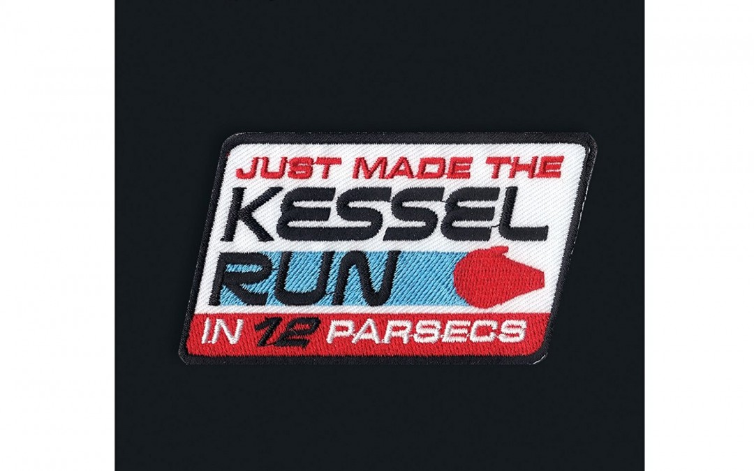 New Solo Movie Kessel Run Iron-On Patch available on Amazon.com