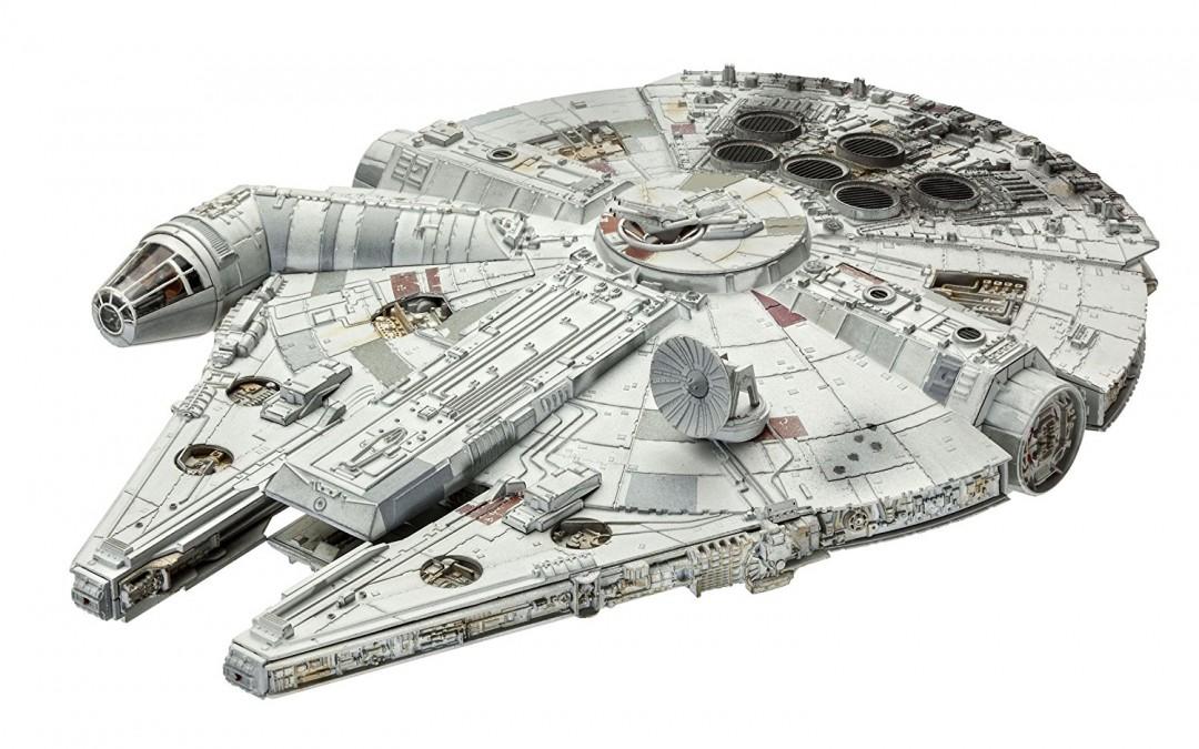 New Last Jedi Millennium Falcon Model Kit available on Walmart.com