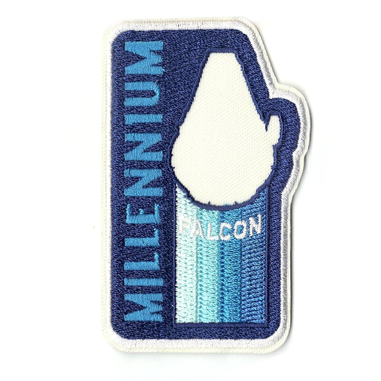 Solo: ASWS Millennium Falcon Retro Embroidered Iron-On Patch