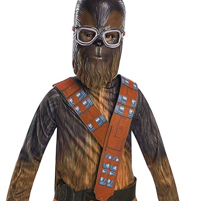 New Solo Movie Chewbacca Medium Child's Costume available on Walmart.com