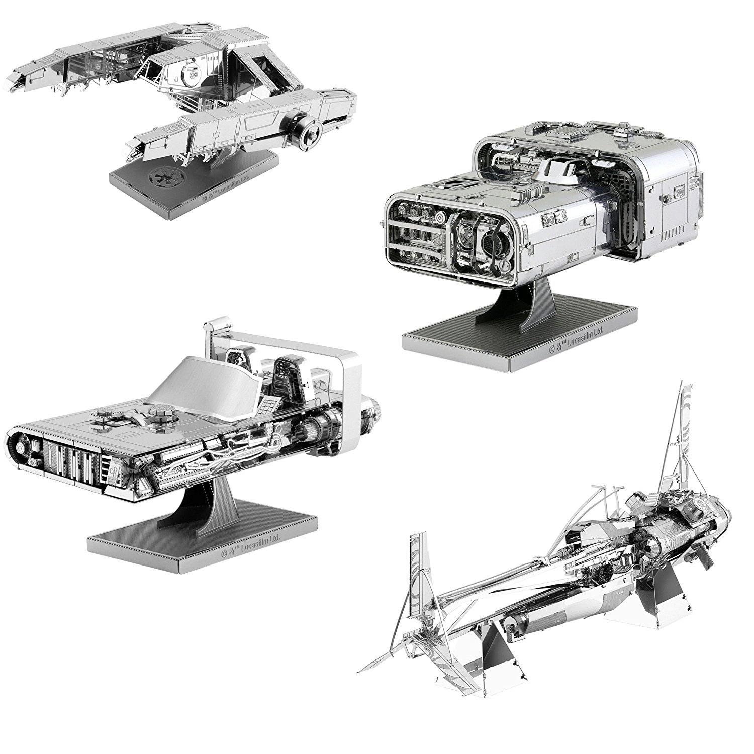 Solo: ASWS 3D Metal Model Kit 4-Pack