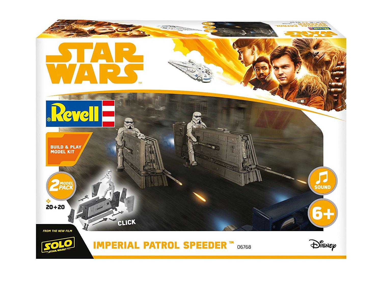 Solo: ASWS Imperial Patrol Speeder B&P Model Kit 2-Pack 1