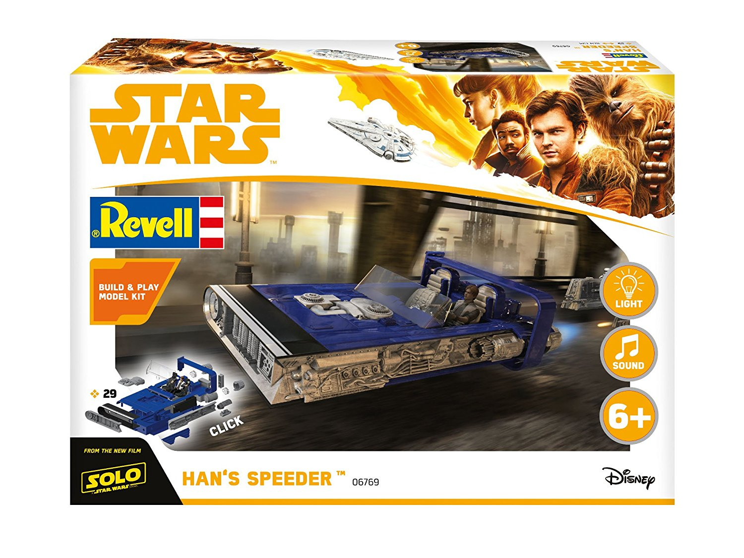 Solo: ASWS Han Solo's Speeder B&P Model Kit 1