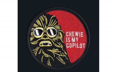 New Solo Movie Chewie Is My Copilot Embroidered Iron-On Patch available on Amazon.com