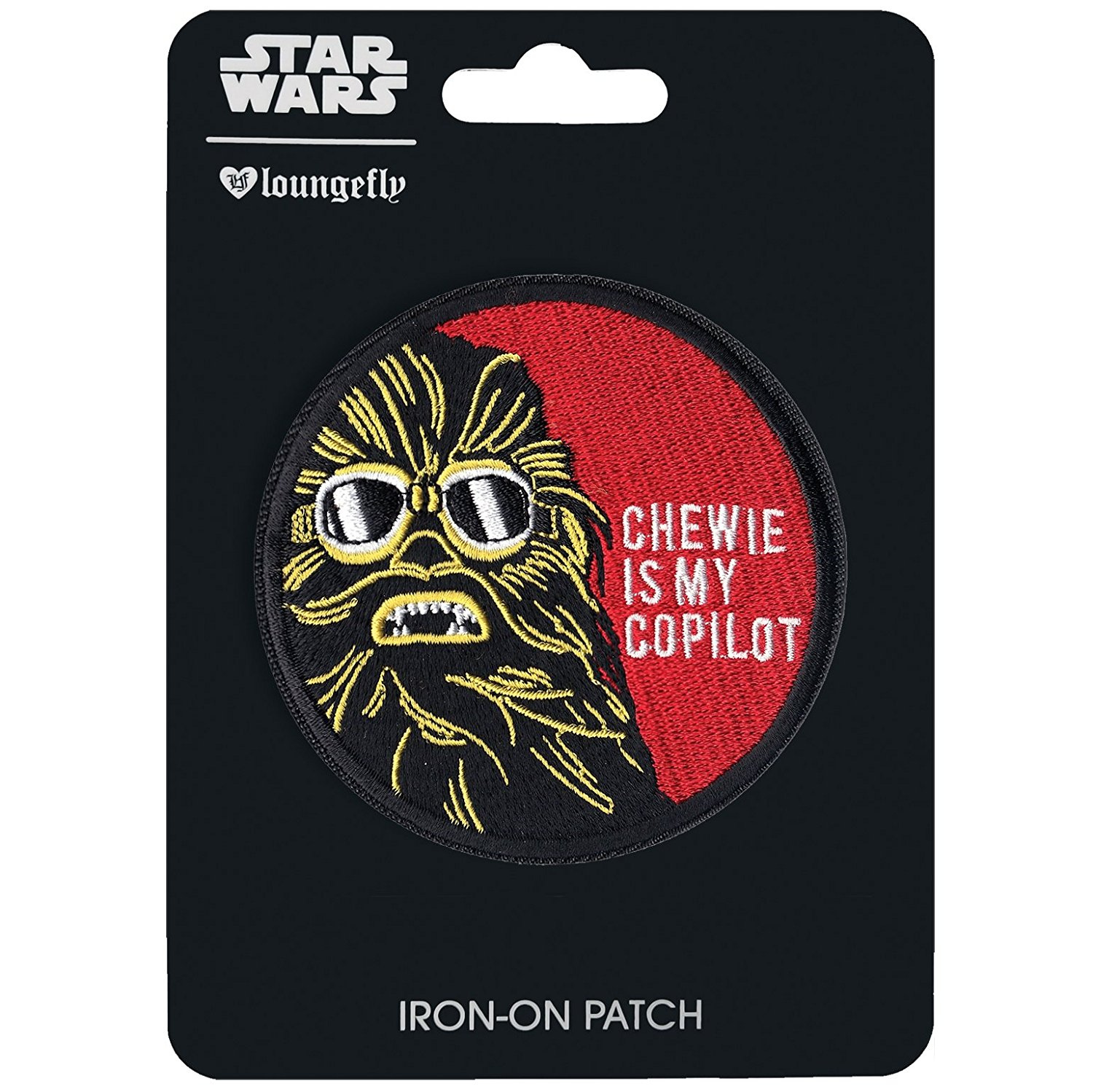 Solo: ASWS Chewie Is My Copilot Embroidered Iron-On Patch 1
