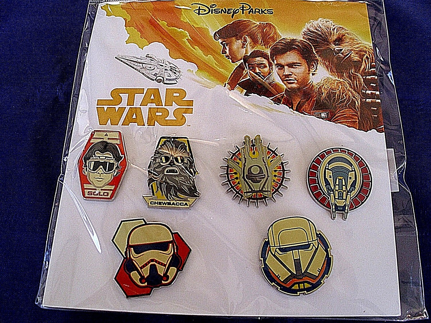 Solo: ASWS Character Trading Booster Pin Set 2
