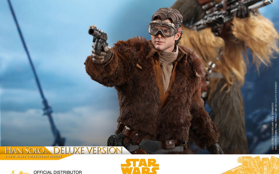New Solo Movie Han Solo Deluxe 1/6th Scale Figure from Hot Toys available for pre-order
