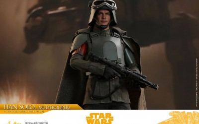 New Solo Movie Han Solo (Mudtrooper) 1/6th Figure from Hot Toys available for pre-order!