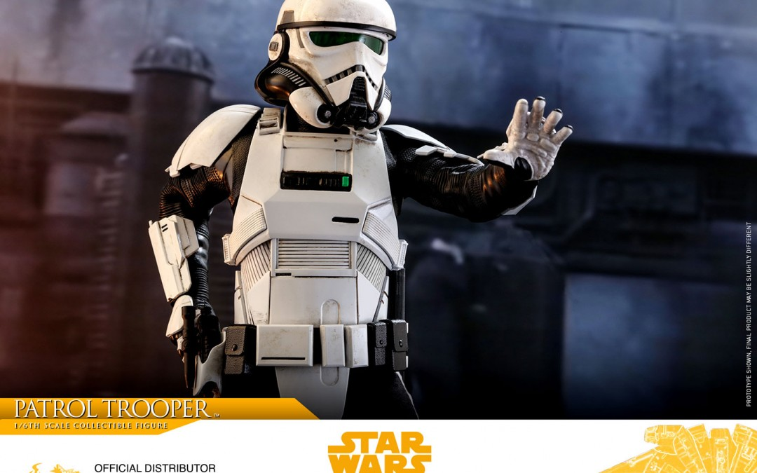 New Solo Movie Imperial Patrol Trooper 1/6th Figure from Hot Toys available for pre-order!