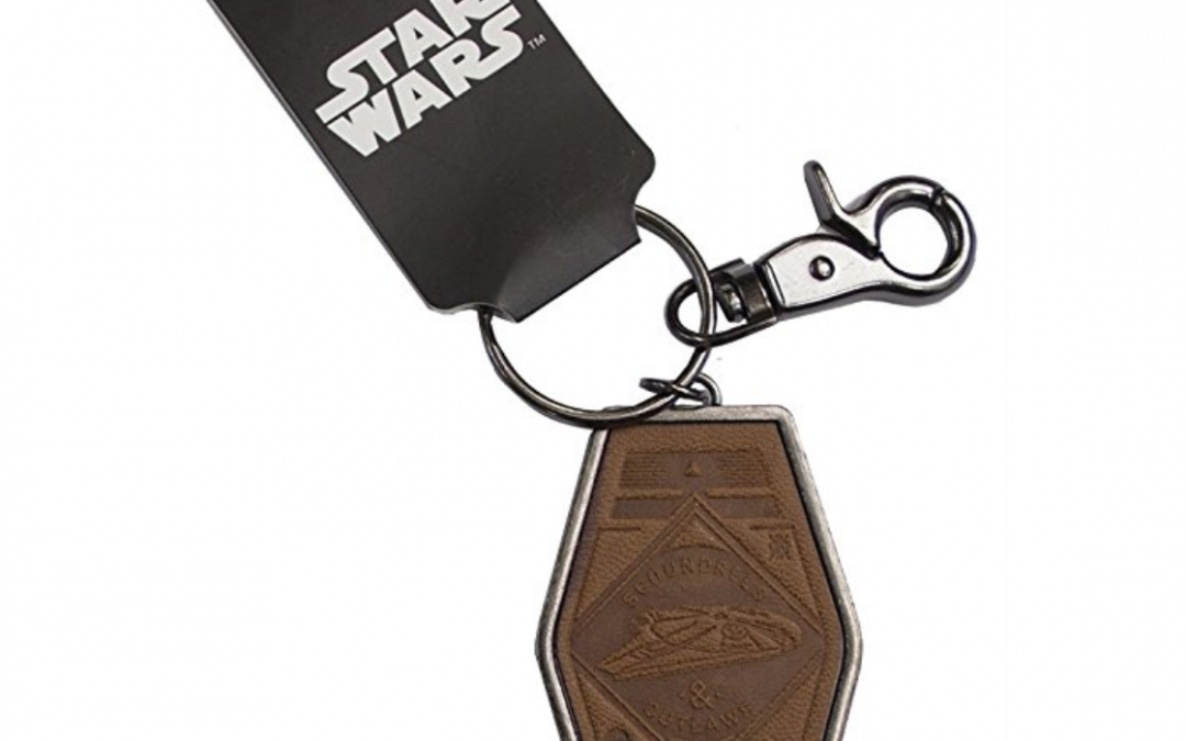 New Solo Movie Scoundrels and Outlaws Keychain available on Amazon.com