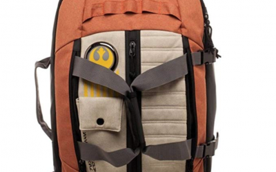 New Last Jedi Resistance Pilot Backpack available on Amazon.com