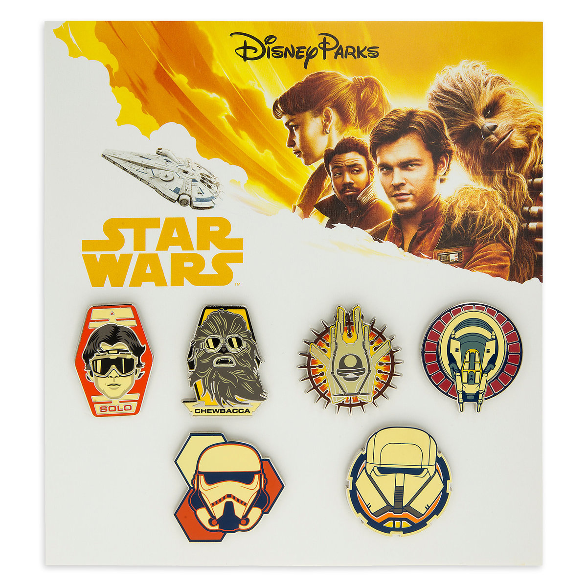 Solo: ASWS Character Trading Booster Pin Set 1