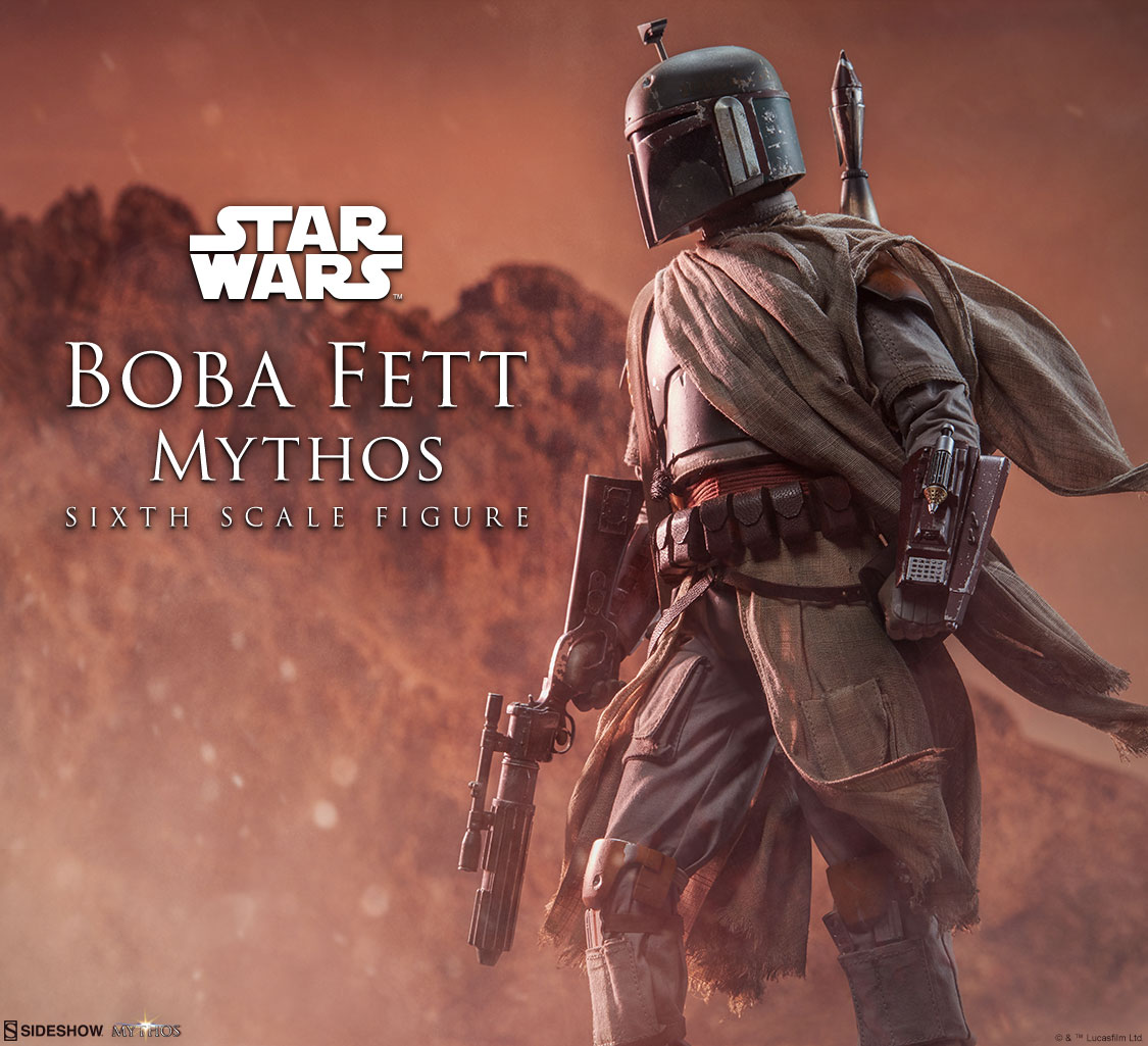 SW Boba Fett Mythos 1/6th Scale Figure Preview Photo