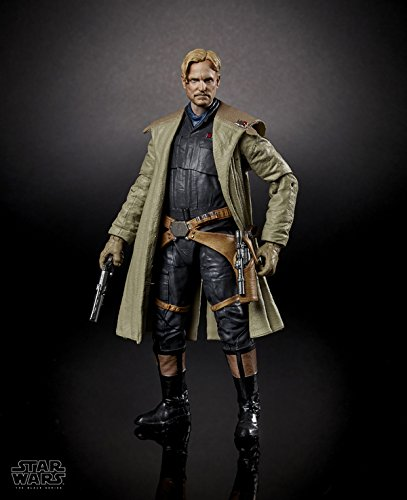 "New Solo Movie Black Series 6"" Tobias Beckett Figure available on Amazon.com"