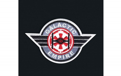 New Solo Movie Galactic Empire Embroidered Iron-On Patch available on Amazon.com