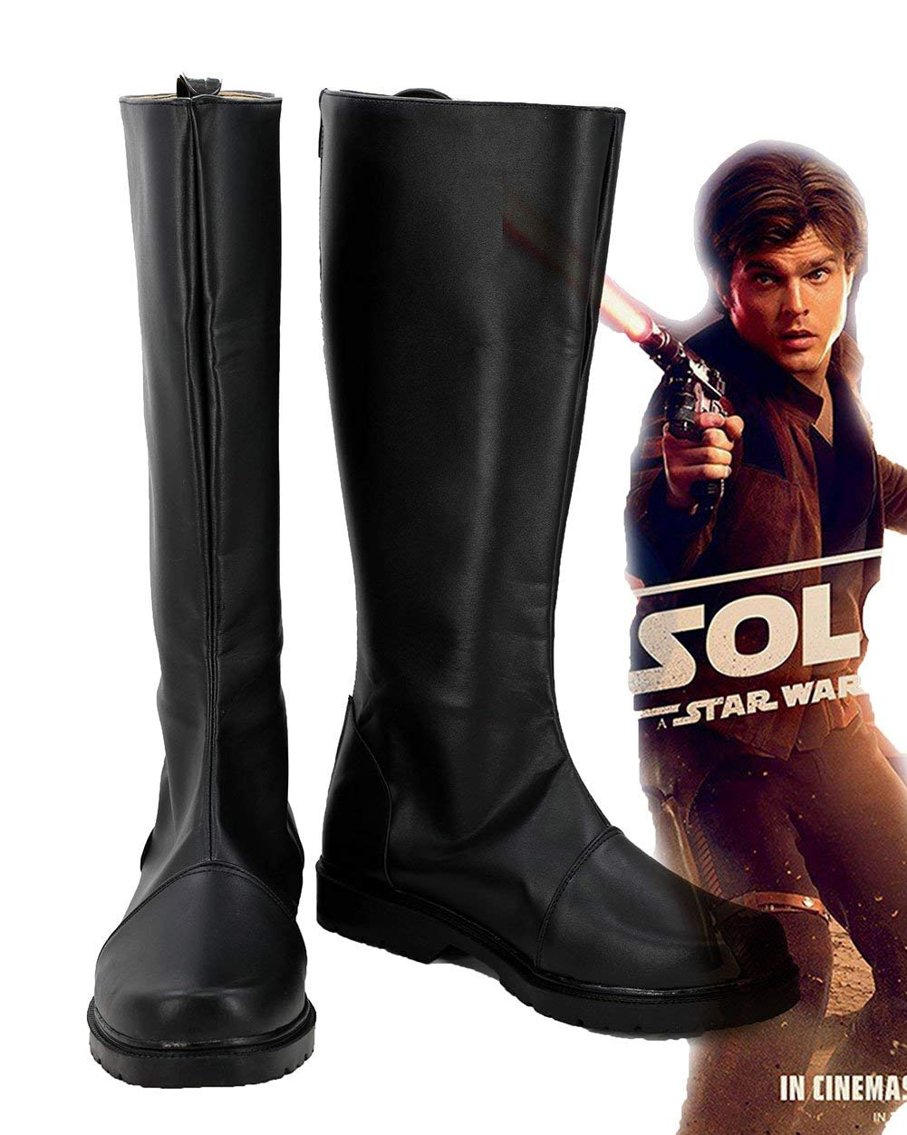 Solo: ASWS Han Solo Cosplay Custom Made Boots 1