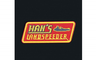 New Solo Movie Han's Landspeeder Embroidered Iron-On Patch available on Amazon.com