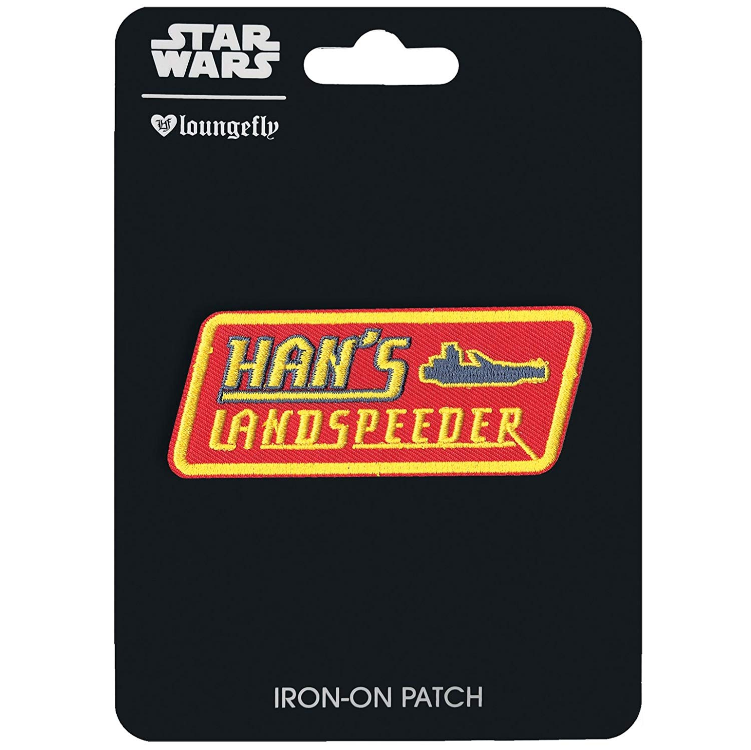 Solo: ASWS Han's Landspeeder Embroidered Iron-On Patch 1
