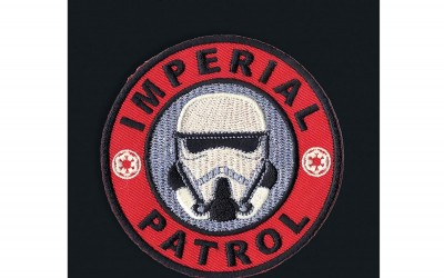 New Solo Movie Imperial Patrol Trooper Embroidered Iron-On Patch available on Amazon.com