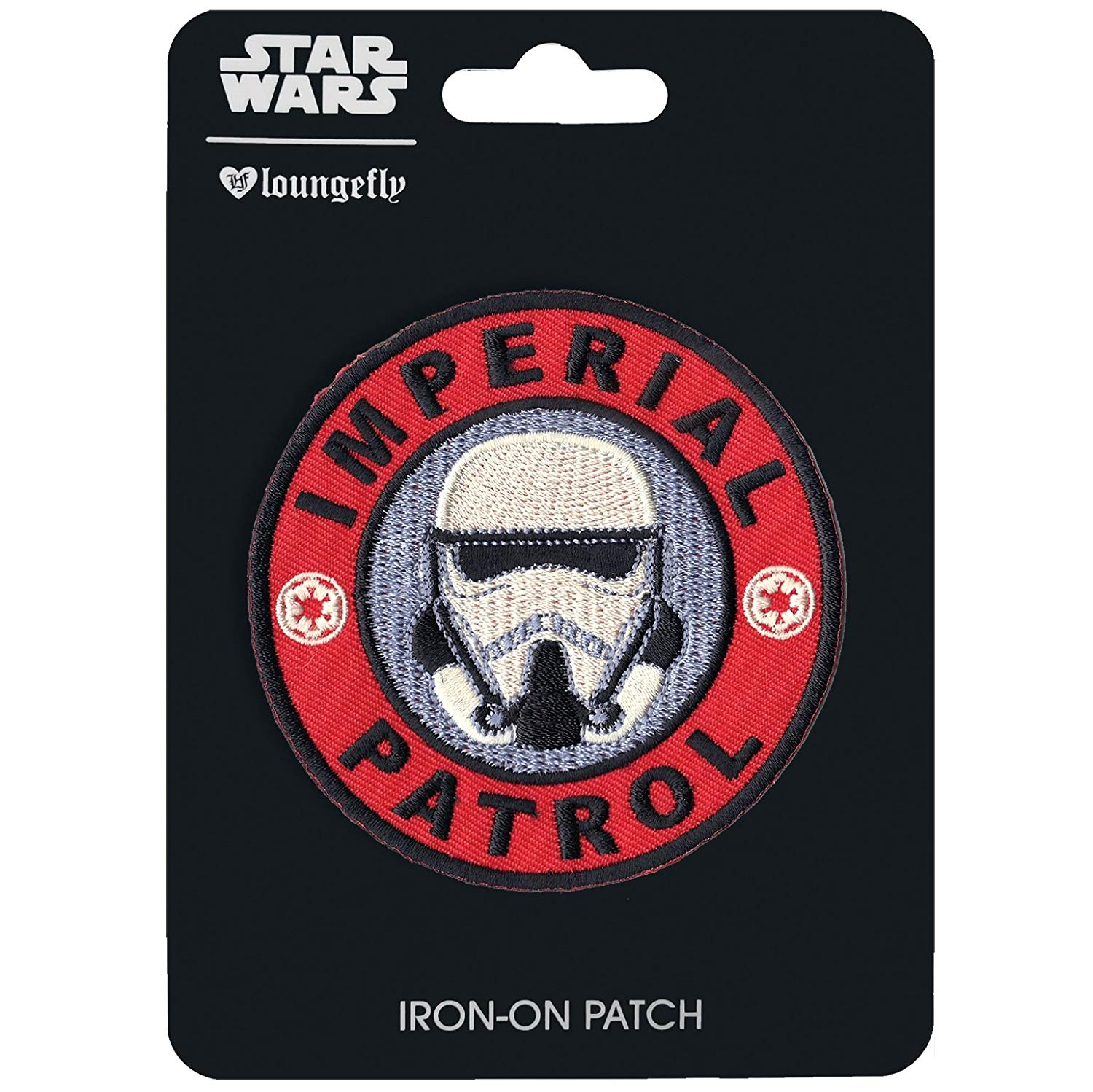 Solo: ASWS Imperial Patrol Trooper Embroidered Iron-On Patch 1