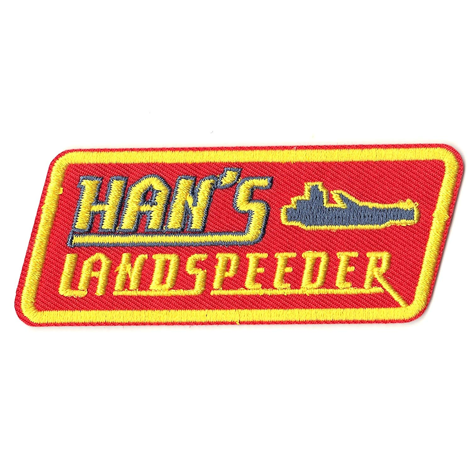 Solo: ASWS Han's Landspeeder Embroidered Iron-On Patch 2