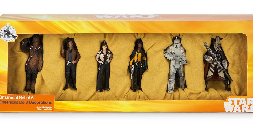 New Solo Movie Christmas Ornament Set available on Walmart.com
