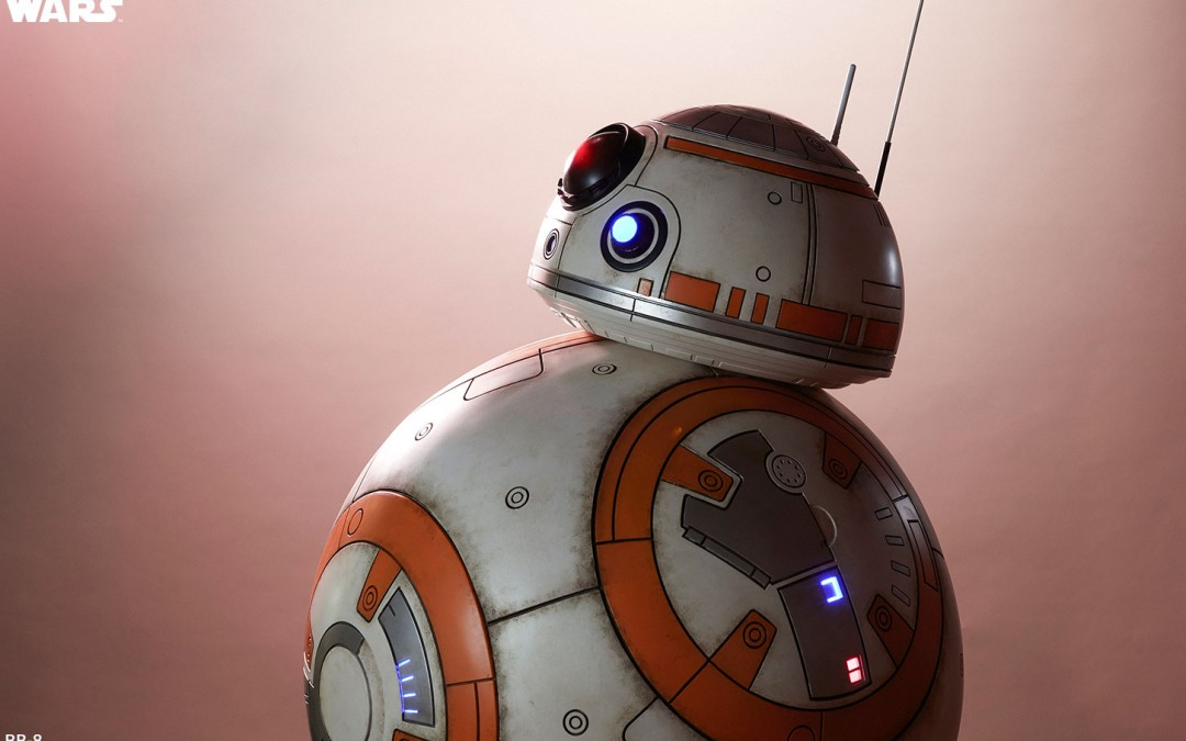 New Force Awakens BB-8 Life-Sized Figure available for pre-order!