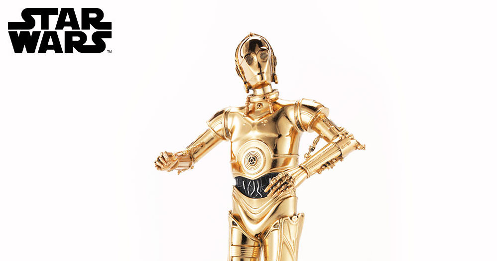 New Star Wars C-3PO Figurine Pewter Statue now available for per-order!