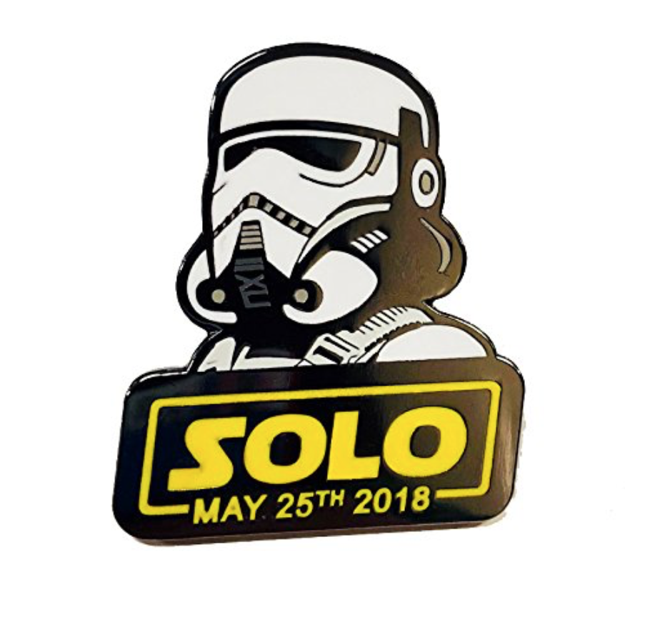 Solo: ASWS Heroes In Action Disney Pin
