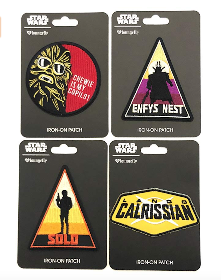 Solo: ASWS Embroidered Iron-On Patches 4-Pack