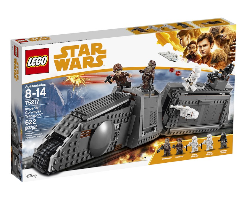 New Solo Movie Imperial Conveyex Transport Lego Set available on Walmart.com