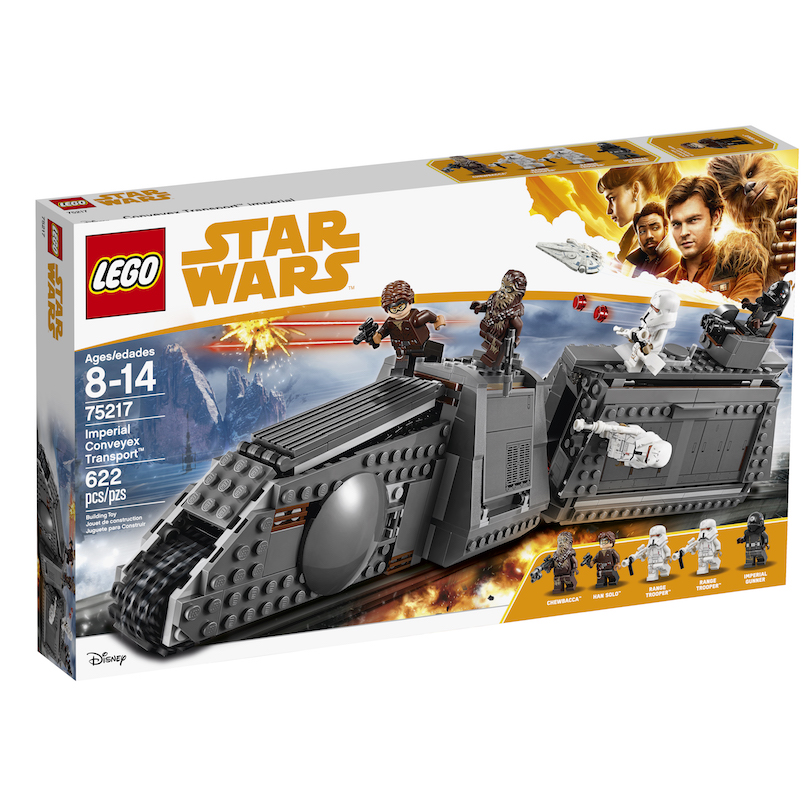 Solo: ASWS Imperial Conveyex Transport Lego Set 1