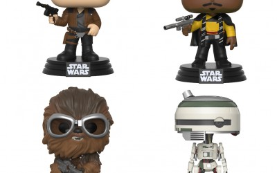 New Solo Movie Funko Pop! Bobble Head Toy 4-Pack available on Walmart.com