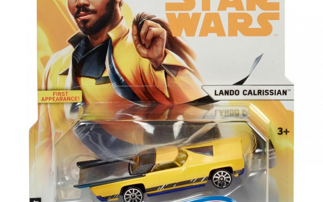 New Solo Movie Hot Wheels Lando Calrissian Character Car available on Walmart.com
