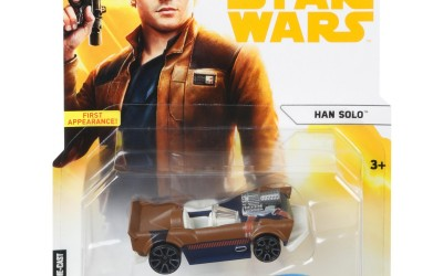 New Solo Movie Hot Wheels Han Solo Character Car available on Walmart.com