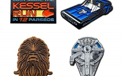New Solo Movie Collector Enamel Pin 4-Pack Set available on Walmart.com