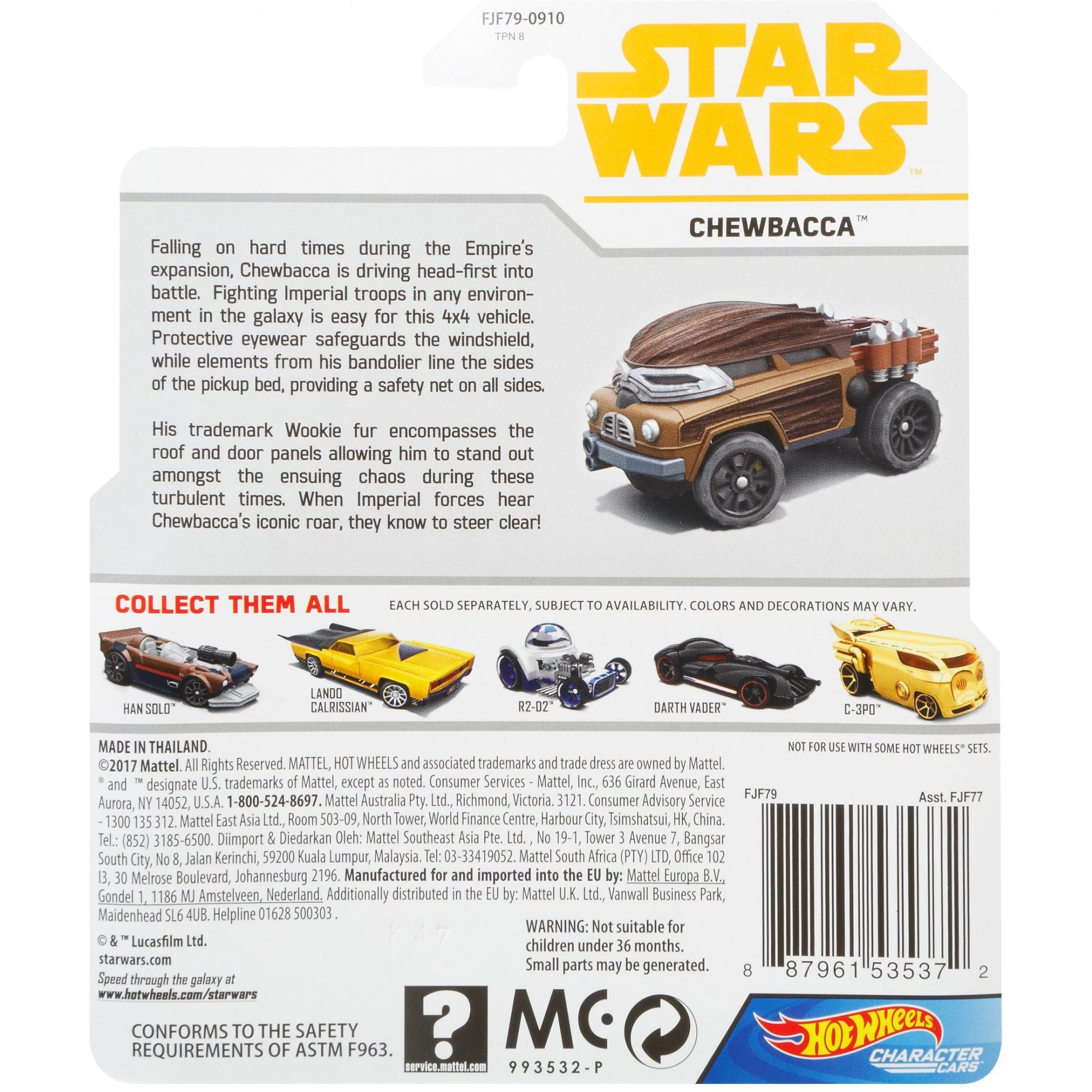 Solo: ASWS HW Chewbacca Character Car 2