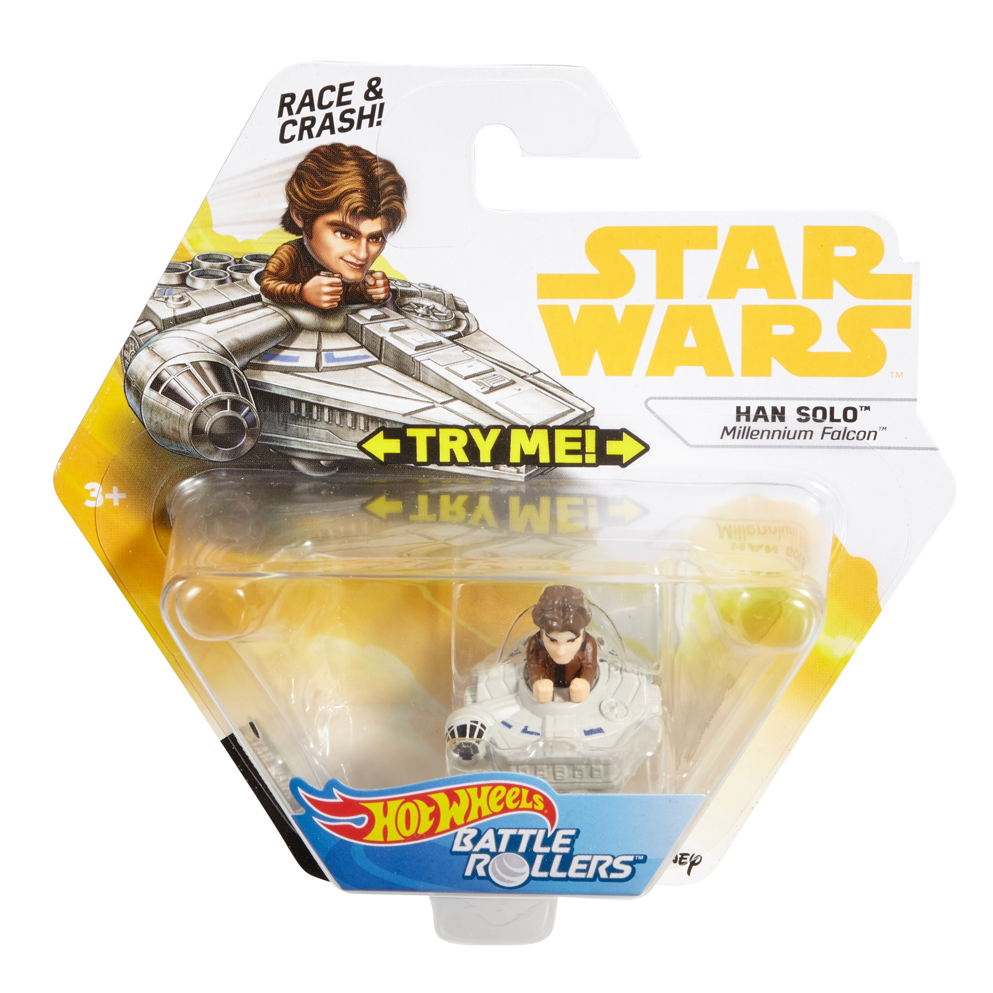 Solo: ASWS Han Solo Millennium Falcon Battle Roller Toy 1