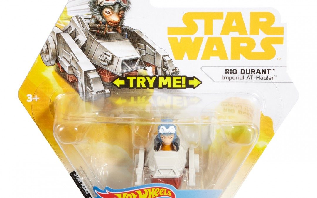 New Solo Movie Hot Wheels Rio Monkey, Quad Hauler Battle Roller Toy available on Walmart.com