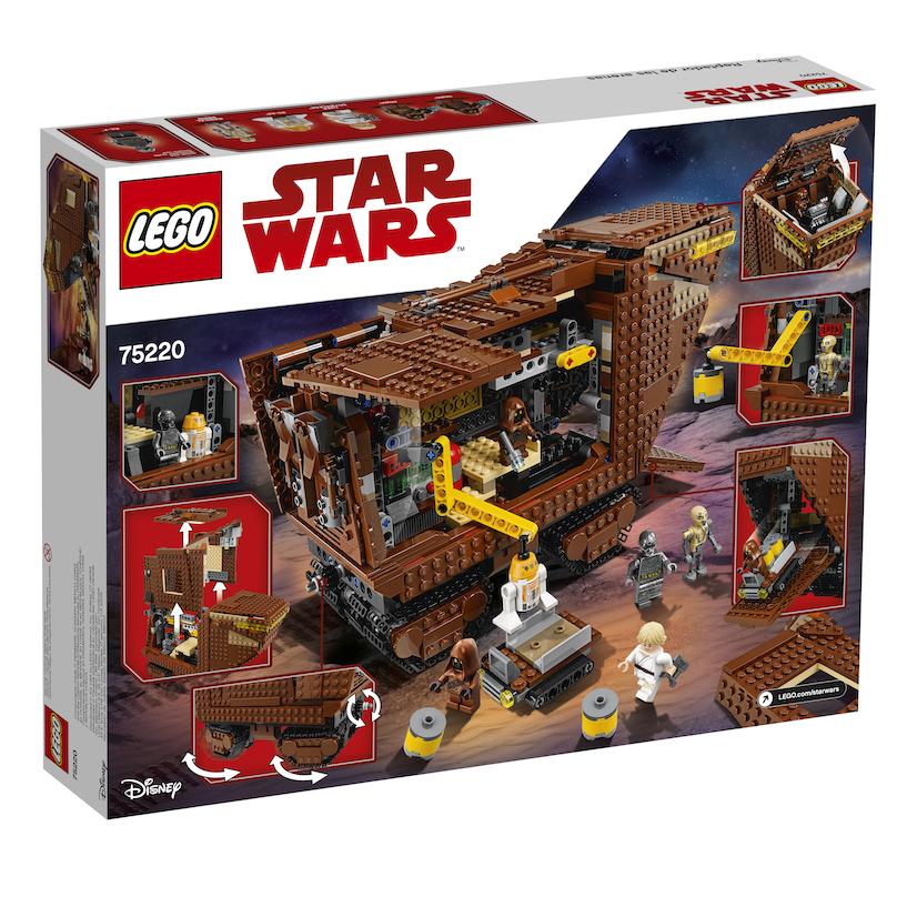 TLJ (ANH) Sandcrawler Lego Set 2