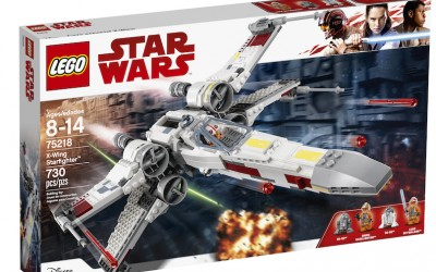 New Last Jedi (A New Hope) X-Wing Starfighter Lego Set available on Walmart.com