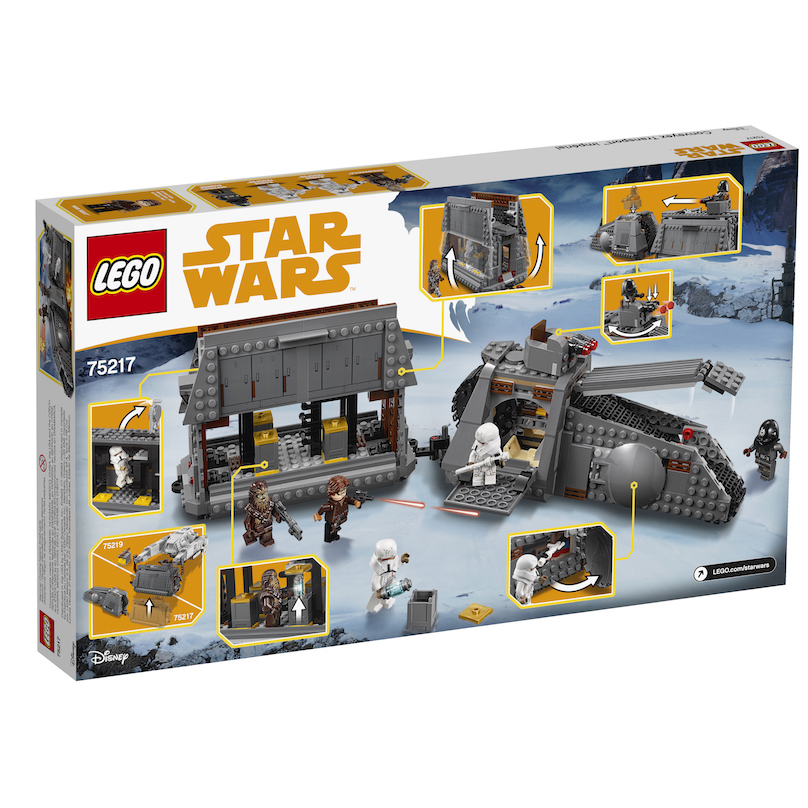 Solo: ASWS Imperial Conveyex Transport Lego Set 2