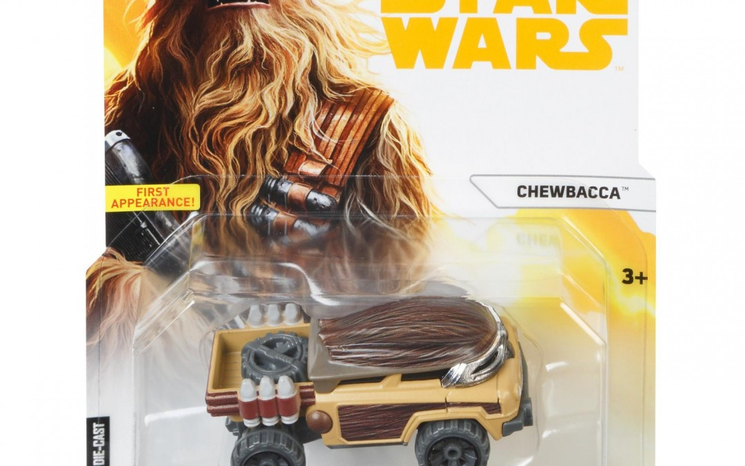 New Solo Movie Hot Wheels Chewbacca Character Car available on Walmart.com