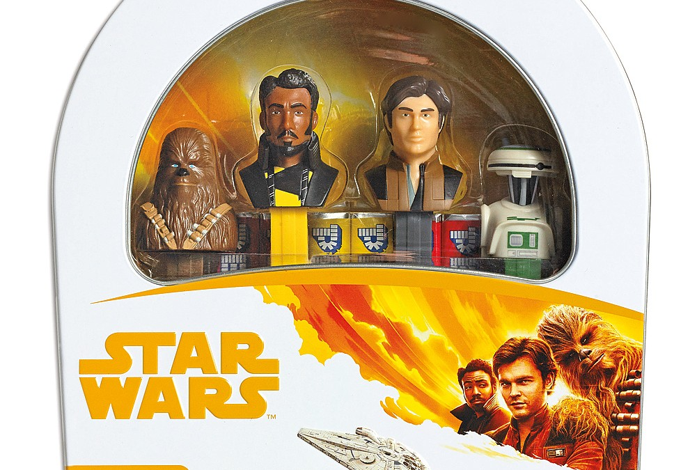 New Solo Movie PEZ Candy Gift Tin Set available on Walmart.com