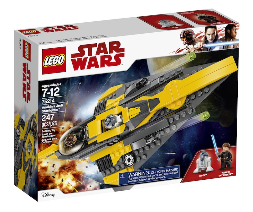 New Last Jedi (Clone Wars) Anakin's Jedi Starfighter Lego Set available on Walmart.com
